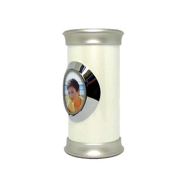 写真も飾れる完全防水骨壺ソレアLサイズ