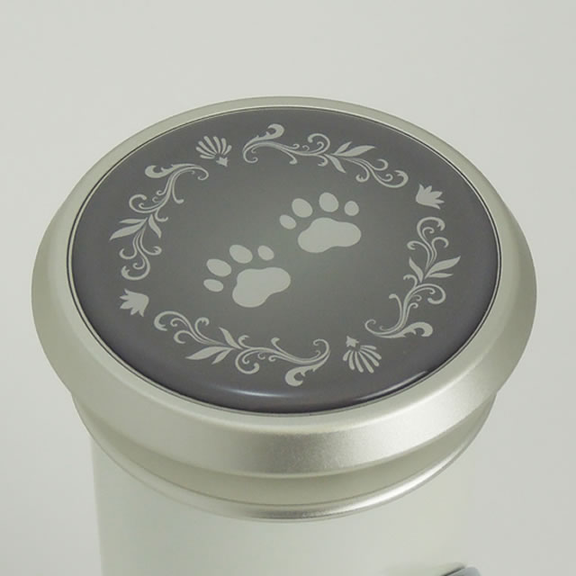 犬や猫などの肉球模様仕上げ